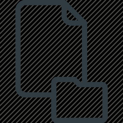 Documen, file, folder, paper icon - Download on Iconfinder