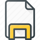 dock, documen, file, holder, paper icon