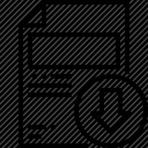 Document, download, file, filetype, folder, office icon - Download on Iconfinder