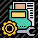 configuration, file, optimization, repair, setting
