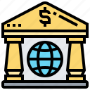 bank, collection, data, information, organized