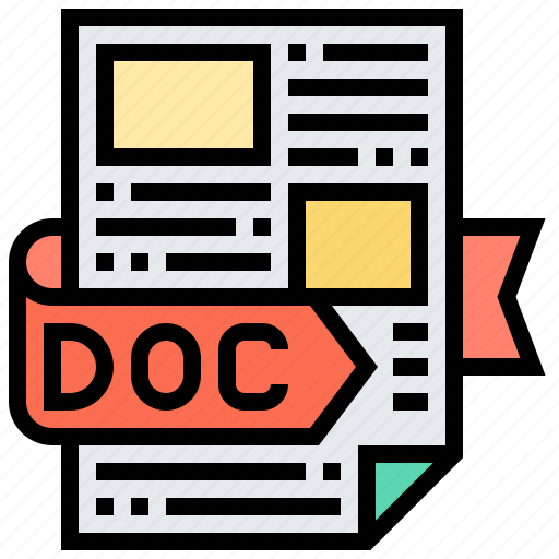 Document, extension, file, format, type icon - Download on Iconfinder