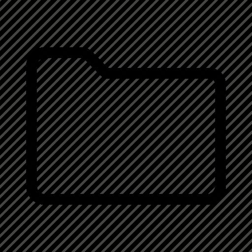 Empty, folder icon - Download on Iconfinder on Iconfinder