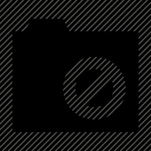 blocked folder, cancel folder, data storage, file storage, restriction icon