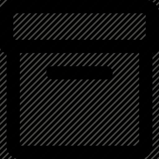 box, category, files icon