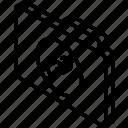 file, folder, iso, isometric, links