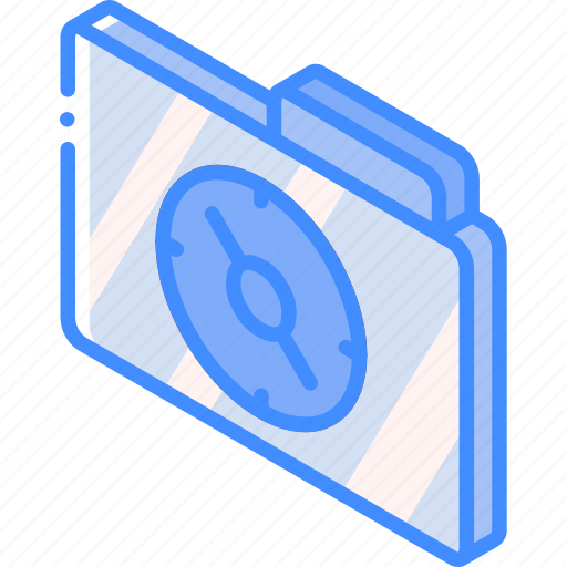 file, folder, iso, isometric, navigation icon