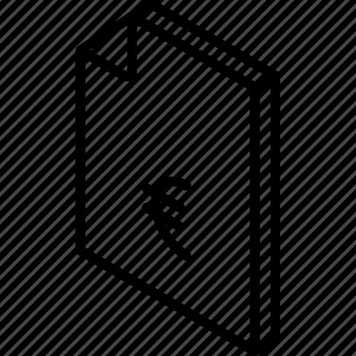 euro, file, finance, folder, iso, isometric icon