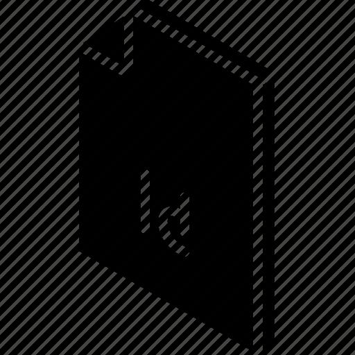 file, folder, indesign, iso, isometric icon