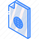 file, folder, internet, iso, isometric icon