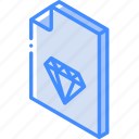 file, folder, iso, isometric, sketch icon