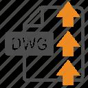 document, dwg, extension, file, format, upload
