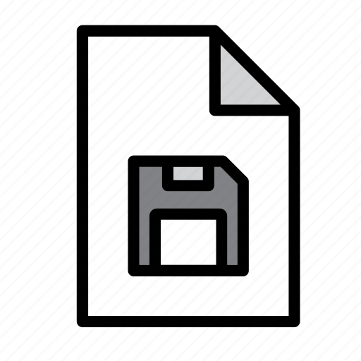 disk, diskette, document, file, floppy, format, guardar, save icon