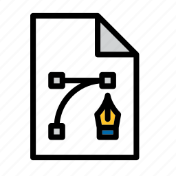 ai file, document, eps, file, graphic design, illustrator icon