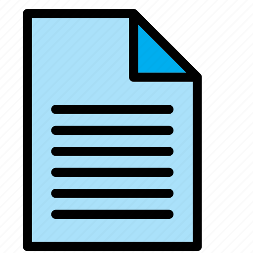doc, document, extension, file, text, word icon