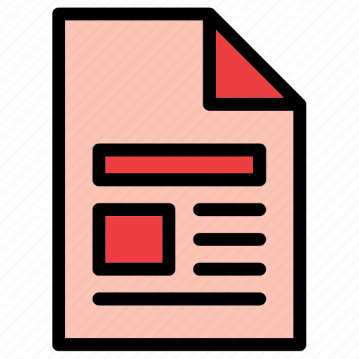 document, extension, file, image, page, pdf, text icon