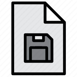 disk, diskette, document, extension, file, floppy, guardar, save icon