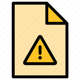 assistance, danger, document, extension, file, help, service icon