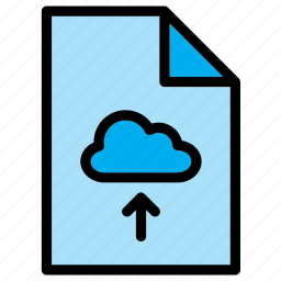 cloud, document, extension, file, guardar, save, upload icon