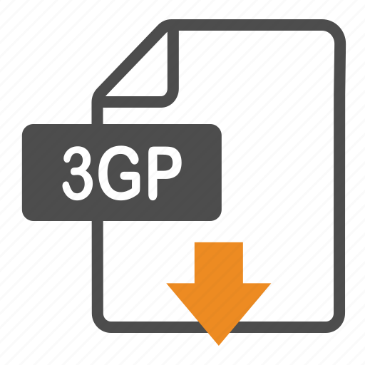 3gp, document, download, extension, file, format icon - Download on Iconfinder