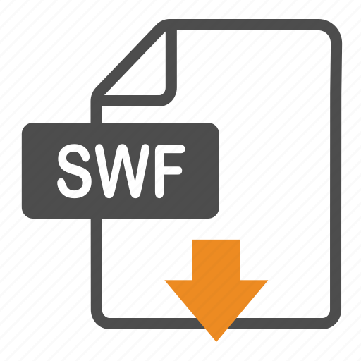 Document, download, extension, file, format, swf icon - Download on Iconfinder