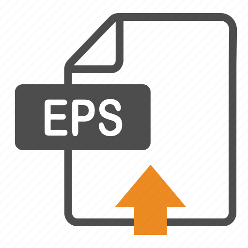 document, eps, extension, file, format, upload icon