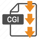 cgi, document, download, extension, file, format