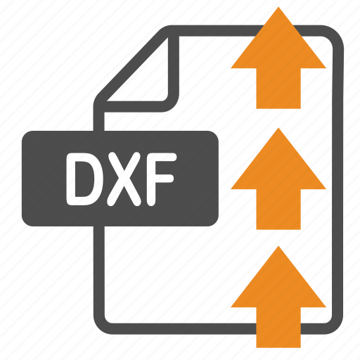 document, dxf, extension, file, format, upload icon