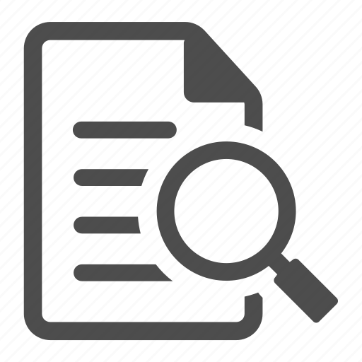 View Document Icon Enlarge, examine, find...
