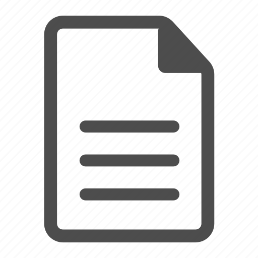 document, file, page, paper, paragraph, sheet, text icon
