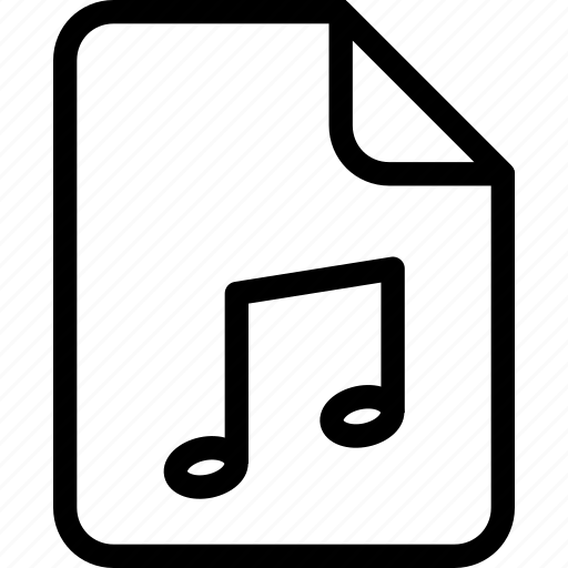 document, document file, document record, documentation, music, paper sheet, record files icon icon