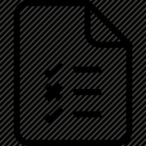 document, document file, document record, documentation, list, paper sheet, record files icon icon