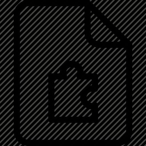 document, document file, document record, documentation, paper sheet, puzzal, record files icon icon