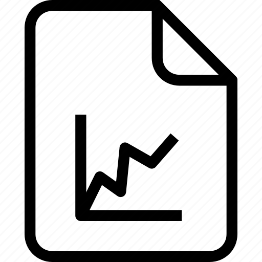 document, document file, document record, documentation, graph, paper sheet, record files icon icon