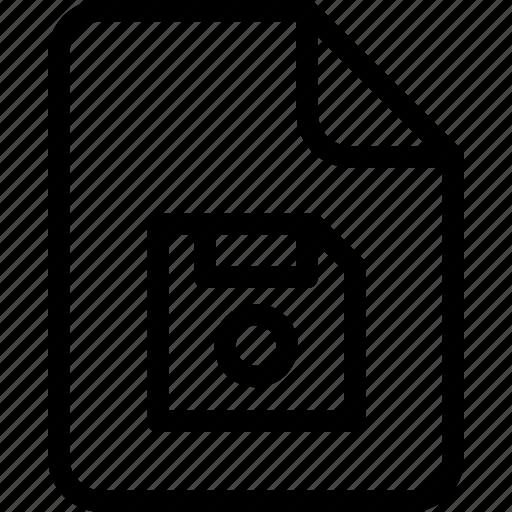 document, document file, document record, documentation, floppy, paper sheet, record files icon icon