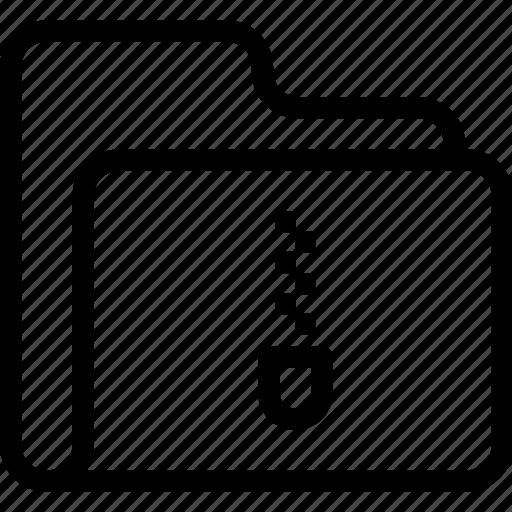 catalog, directory, document case, folder, index, jacket, portfolio, roll, schedule, sked, warning icon, zip icon