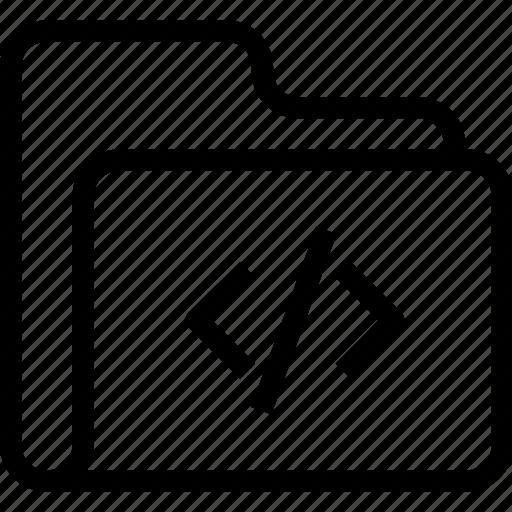 Catalog, code, coding, directory, document case, folder, index icon - Download on Iconfinder