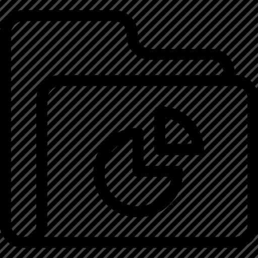 catalog, directory, document case, folder, graph, index, jacket, pie chart, portfolio, roll, schedule, sked, warning icon icon