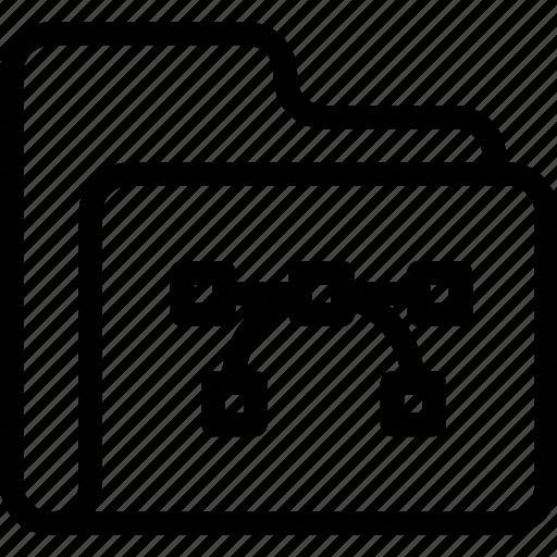 catalog, directory, document case, folder, index, jacket, portfolio, roll, schedule, sked, vector, warning icon icon