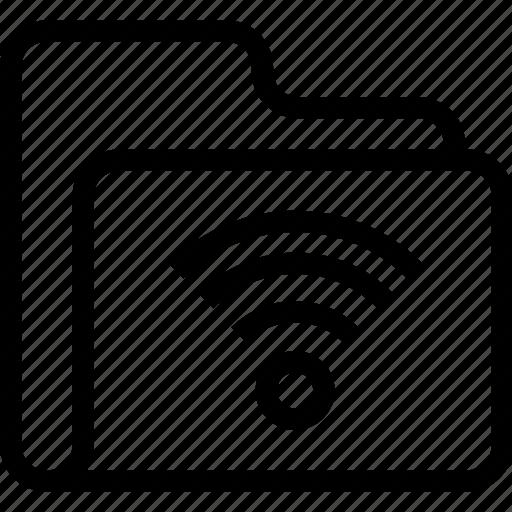 catalog, directory, document case, folder, index, jacket, portfolio, roll, schedule, sked, warning icon, wifi icon