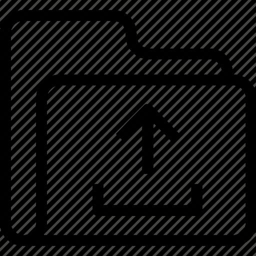 catalog, directory, document case, folder, index, jacket, portfolio, roll, schedule, sked, upload, warning icon icon