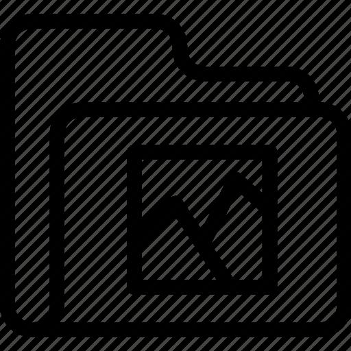 catalog, directory, document case, folder, image, index, jacket, picture, portfolio, roll, schedule, sked, warning icon icon