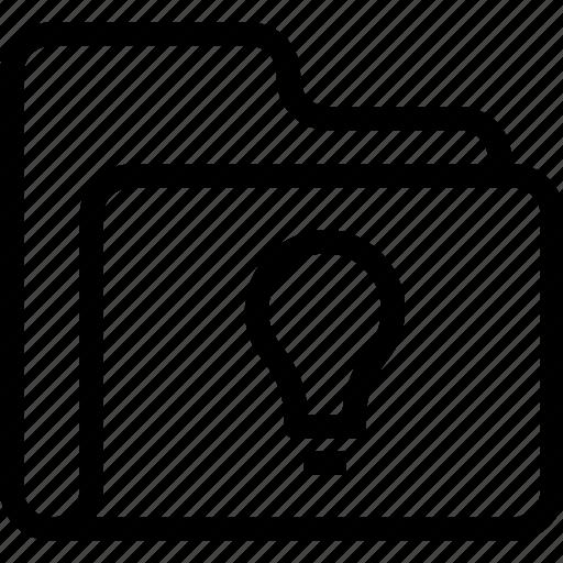 blub, catalog, directory, document case, folder, idea, index, jacket, portfolio, roll, schedule, sked, warning icon icon