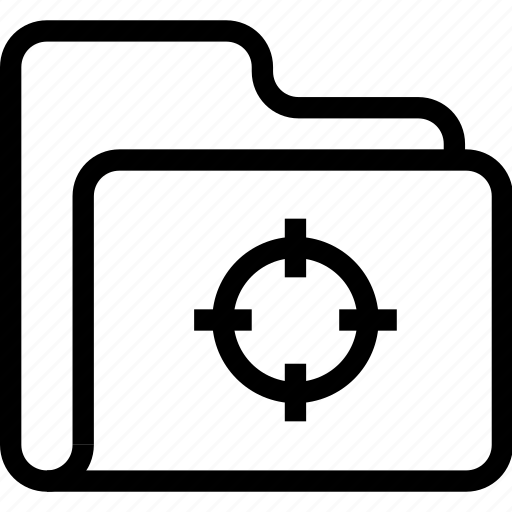catalog, directory, document case, folder, index, jacket, portfolio, roll, schedule, sked, target, warning icon icon