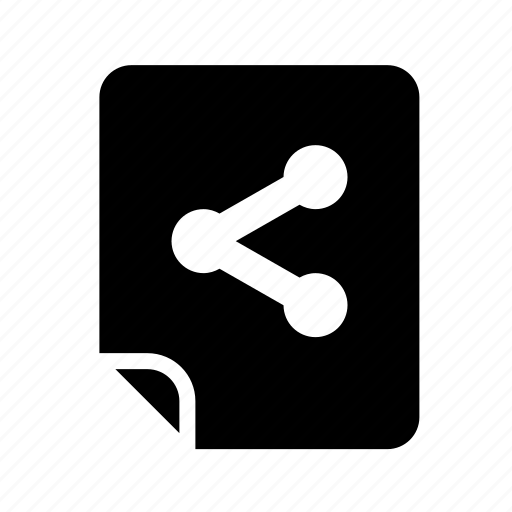 files, share icon