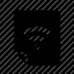 files, wifi icon