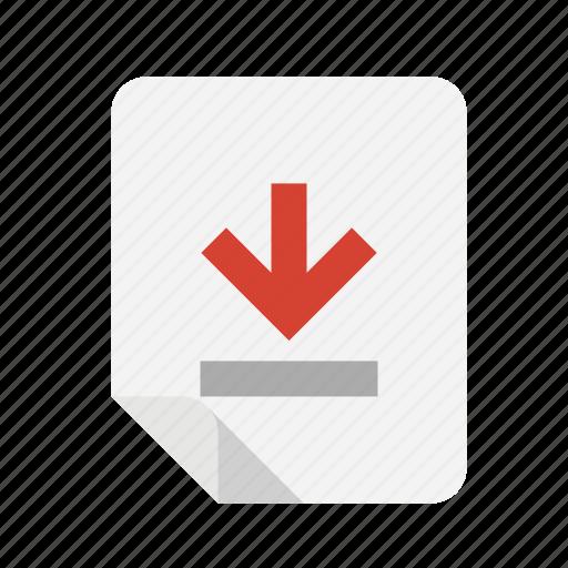 bottom, files icon