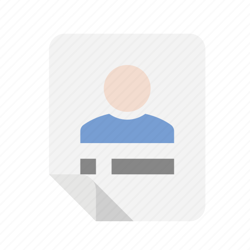 files, profile, user icon