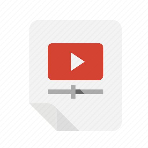 files, video icon