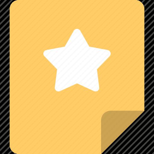 favorite, file, rating, star, suka icon